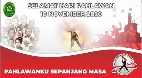 SELAMAT MEMPERINGATI HARI PAHLAWAN Tahun 2020 [10 November 2020]